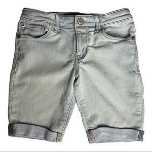 GAP Denim Kids Stretch Bermuda Short Size 8
